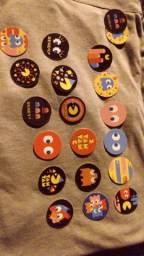 Coleção Tazos Pac-man 20 Tazos