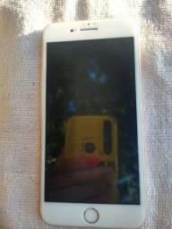 iPhone 8 plus 64gb saúde 96 bateria impecável gold