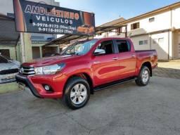 Toyota Hilux srv automática 4x4 turbo diesel cor rara de achar