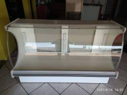 Expositor  vitrine seca para lanchonete ou padaria