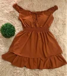 Vestido curto Plus Size ( kit4)