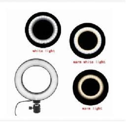 Iluminador Ring Light 16cm: Iluminador de Led Ring Light com 16CM Diâmetro