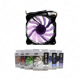 Cooler 120 x 120 - 120mm (12v) c/ Led Roxo