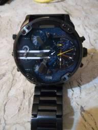 Relógio Diesel Mr. Daddy 2.0 Blue Dial Quartzo Relógio Masculino Dz7331<br><br>