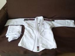 Kimono de Judo Shiroi Trançado Tamanho A1