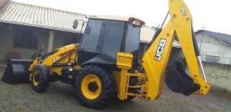 Retro escavadeira JCB  4X4 2014 gabinada