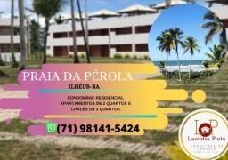 Praia da Pérola -2/4, 1 suíte e 3/4, 2 suítes- Pé na areia- (60X Sem Juros) Oportunidade