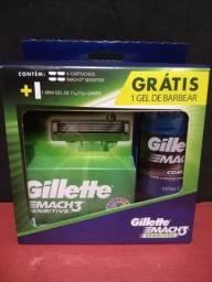 Kit GILLETTE Sensitive Gel