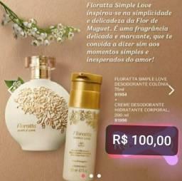 Kit Floratta Simple Love. Leia o anúncio.