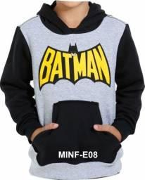 Conjunto de moletom infantil Batman