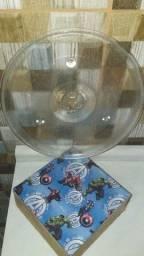 Prato para microondas Brastemp 27x27 centímetro de diâmetro