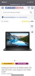 Notbook Dell I5 8º geração
