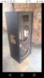 Caixa acústica de 15