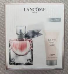 Kit perfume e body lotion originais