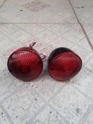 Par de lanternas de Jeep
