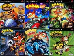 Coleção Crash - PS2