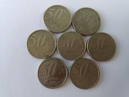 Lote de moedas