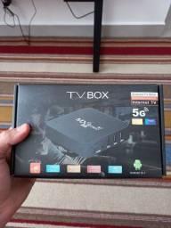 Tv box mxq pro 4k novo na caixa