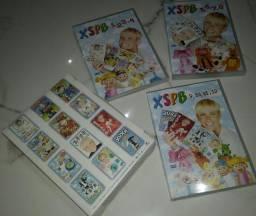 Coleção DVD original - XUXA só para paixinhos 1 ao 12