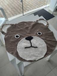 Tapetes urso de crochê