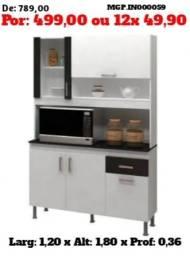 Descontasso em MS - Armario de Cozinha ou Kit de Cozinha Lindissima - Embaaldo