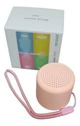 Caixinha via Bluetooth colorida $50 Nova