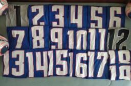 Kit de uniforme Ícone Champions - N° 1 ao N°19