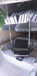 Barco de pesca assento (NYLON)