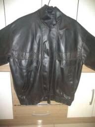 Jaqueta de couro LEIA