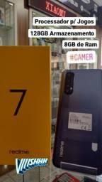 Celular Gamer Realme 7 128Gb 8gbRAM Novo na Caixa
