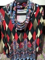 Vendo blusa sobre leguin ou vestido