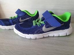 Novo!!Tênis Nike Free 5.0 Ultra Leve infantil unissex