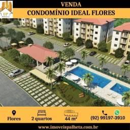 Ideal Flores da cidade, Apartamento com 2 quartos, no 4° andar