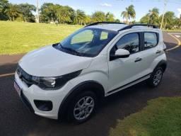 Fiat Mobi Way 2018 Completo Ipva Total PagoBaixo Km