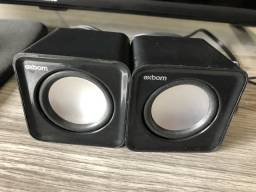 Caixinha de som para notebook ou computador 8W