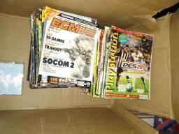 Revistas Variadas de Vídeo Game