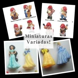 Título do anúncio: miniaturas para artesanato,terrário,coleções...