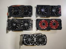 (OPORTUNIDADE) 5 Placas de vídeo RX 570 4gb