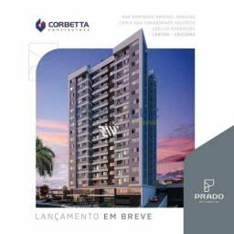 Prado Residencial -3 quartos sendo 1 suíte - pré-lançamento na Rua Domingos Bristot - Cent