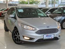 Ford Focus 2.0 Titanium Plus 16V Flex 4P Powershift 15/16 Prata