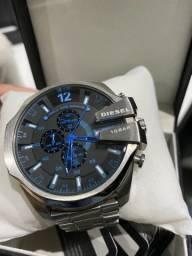 Relógio Diesel 10Bar prata