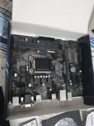 Placa mãe Asus B360M-K para 8 e 9 Geração Intel
