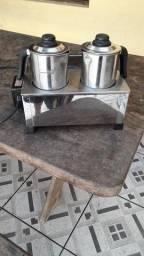 Banho Maria em inox marca consercaf 220v