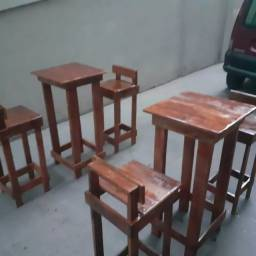 Título do anúncio: mesas e cadeiras pallet