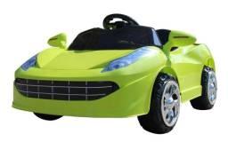 Mini carro elétrico infantil 6v porsche bateria até 25kg
