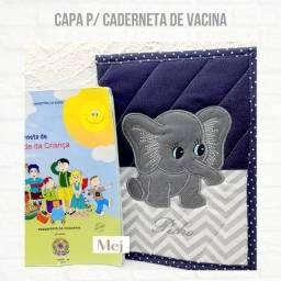 Capa De Caderneta De Vacinação Personalizada Elefante