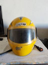 Capacete Protork Amarelo
