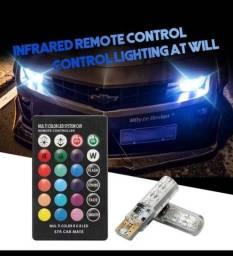 Meia luz led RGB  com controle