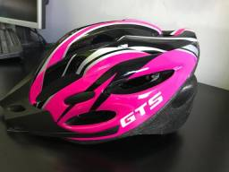 Capacete Ciclismo Gts Out Mould Rosa Pink