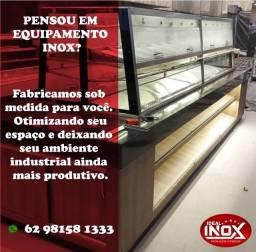 Título do anúncio: geladeiras para estoque em inox